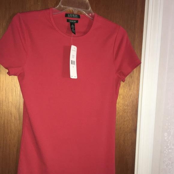 008d6dee97d0e BNWT Ralph Lauren faded red shirt! Nice